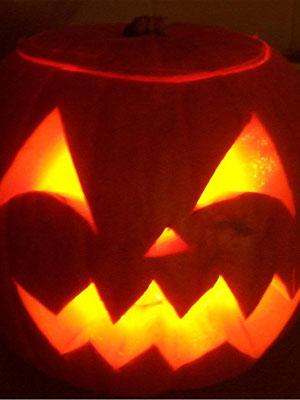 come tagliare la zucca per Halloween