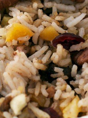 riso basmati con frutta al curry